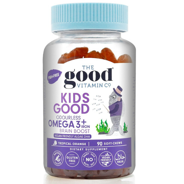 GOOD VITAMINS Kids Good Bilberry + Lutein 90softchews
