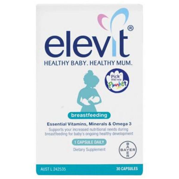 ELEVIT Breastfeeding 30caps