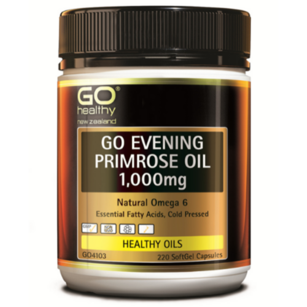 GO Evening Primrose Oil 1000mg 220caps