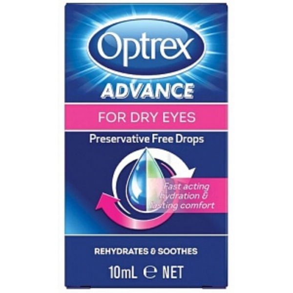 OPTREX Advance Dry Eye Drops 10ml
