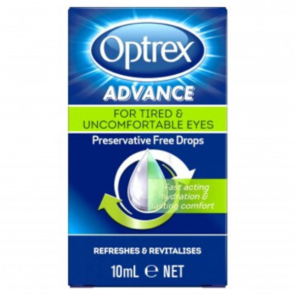 OPTREX Advance Tired & Uncomfortable Eye Drops 10ml
