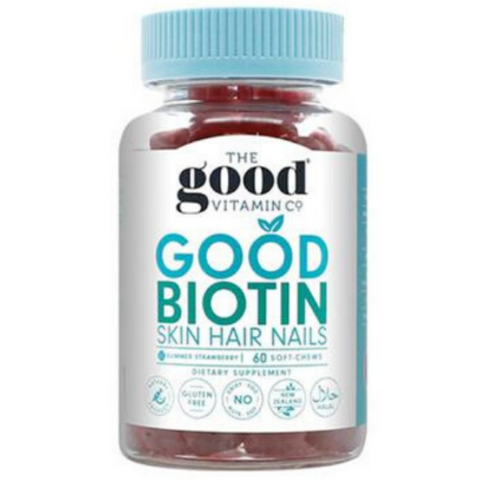 GOOD VITAMINS Good Biotin Skin, Hair, Nails 60softchews