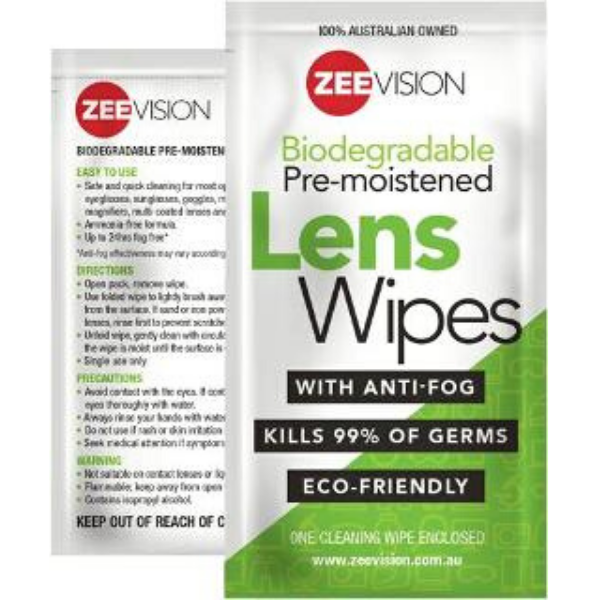 Zeevision Lens Wipes 24