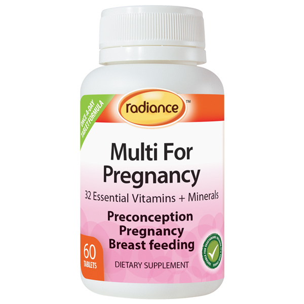 RADIANCE Multi for Pregnancy 60tabs