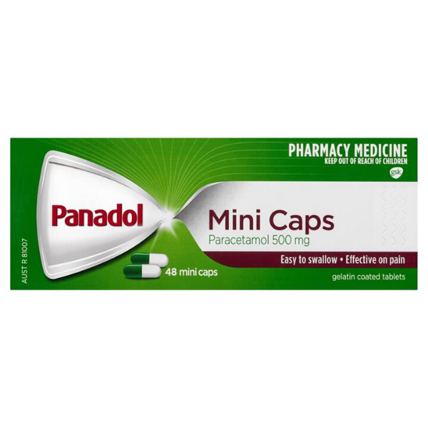 PANADOL Mini Caps 48s