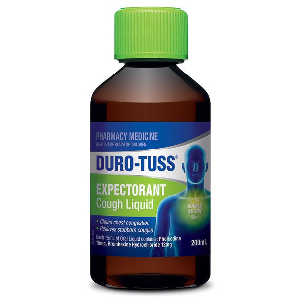DURO-TUSS Expectorant Cough Liquid 200ml