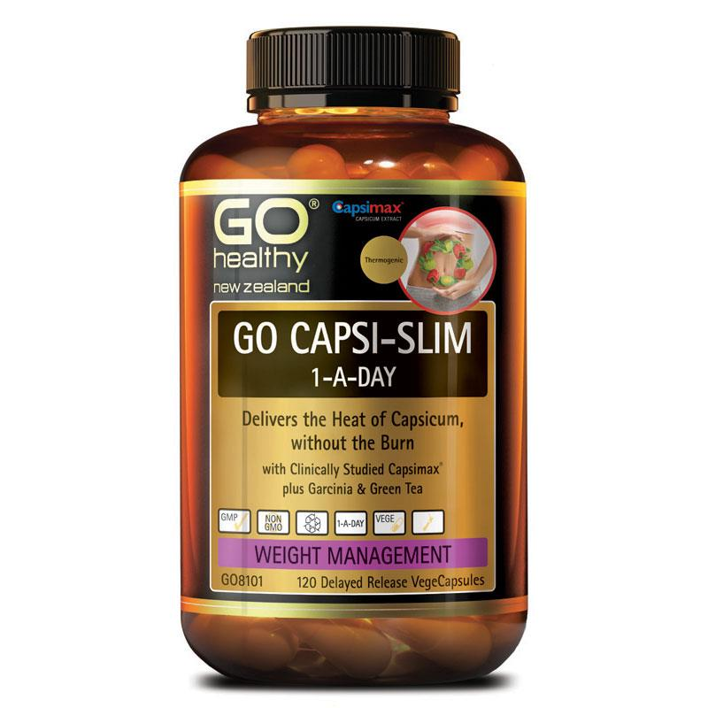 GO Capsi-Slim 1 a Day 120 caps