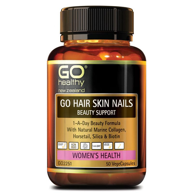 GO Hair Skin & Nail Beauty Support 50vcap