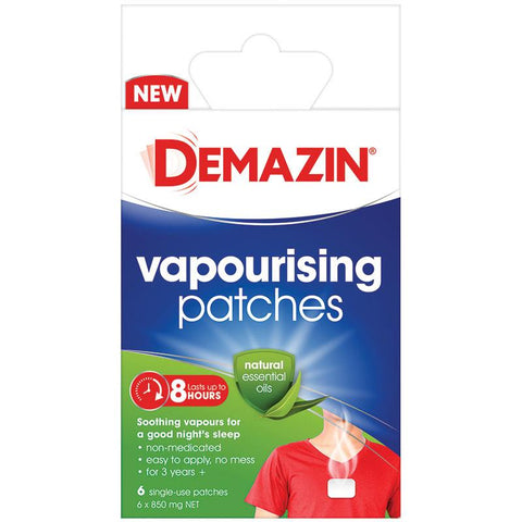 DEMAZIN Vaporising Patches 6pk