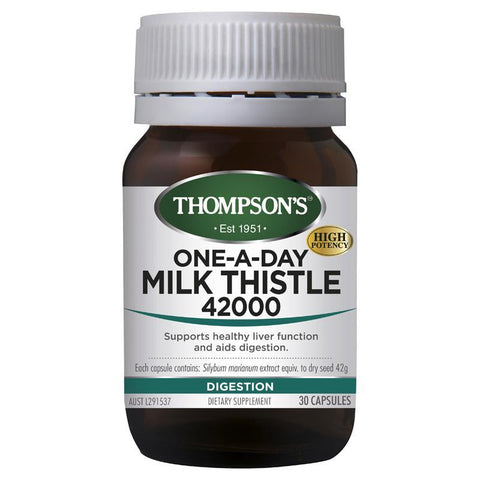 THOMPSONS One-A-Day Milk Thistle 42000 30cap