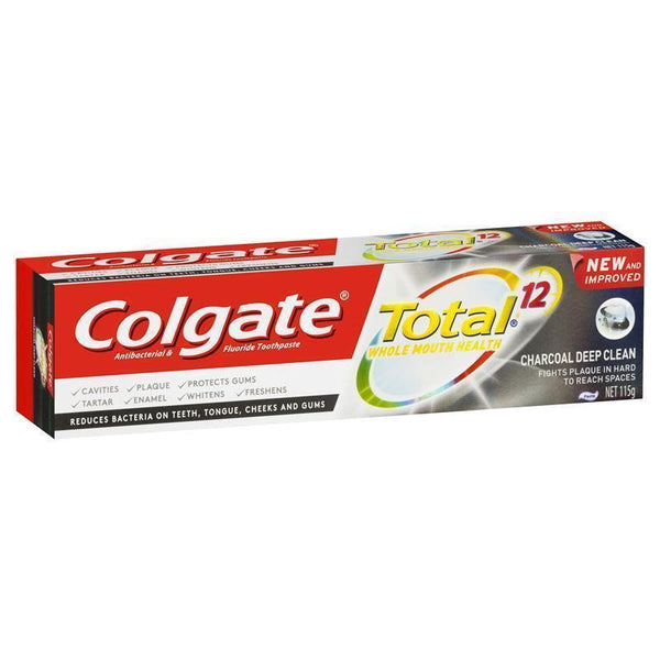 COLGATE Total Charcoal Deep Clean 110g