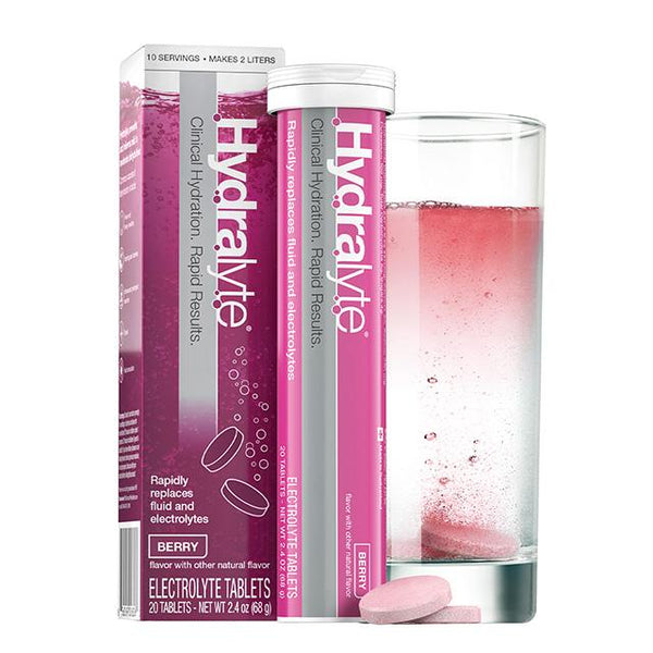HYDRALYTE Effervescent Tablets Apple & B/C 20 Tab