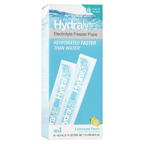 HYDRALYTE Ice Block Lemonade 16pk