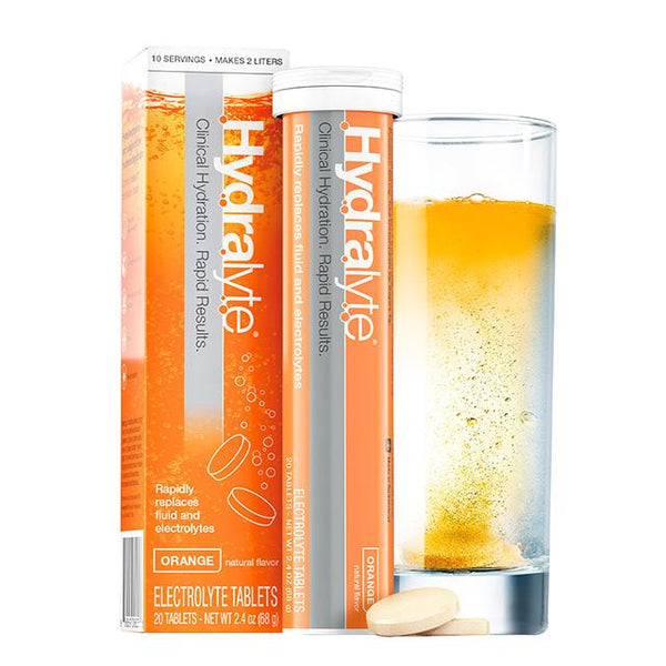 HYDRALYTE Effervescent Tablets Orange 20 Tab