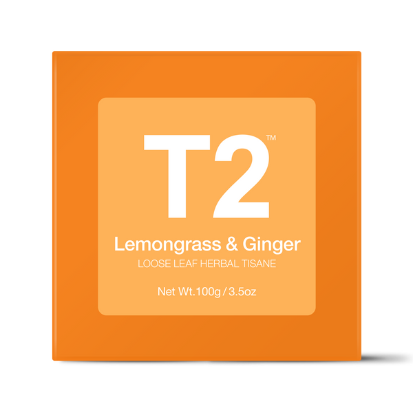 T2 Lemongrass & Ginger Loose Leaf Tea 100g