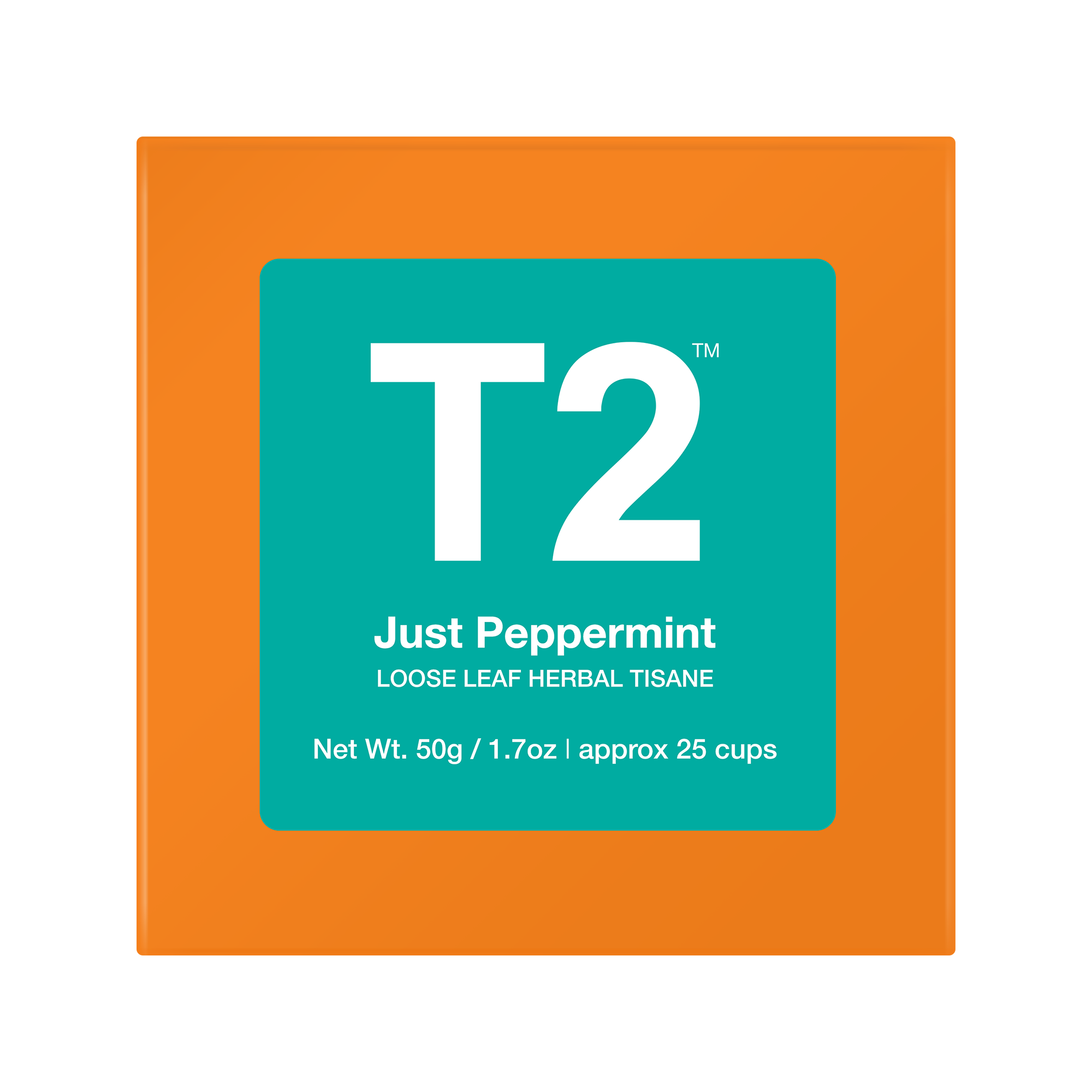 T2 Just Peppermint Loose Leaf Tea 50g
