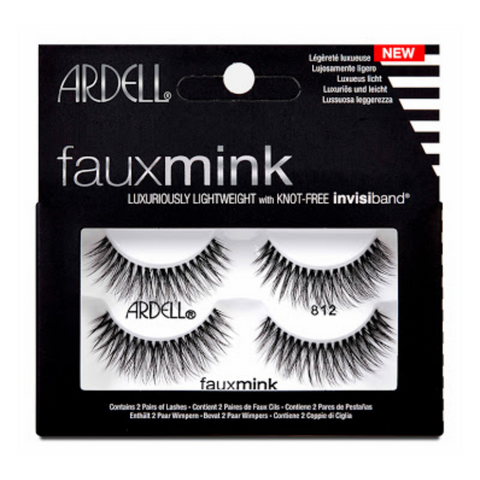 ARDELL Faux Mink Lashes 812 2pk