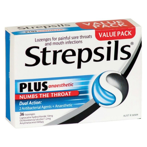 STREPSILS Anaesthetic Plus 36loz
