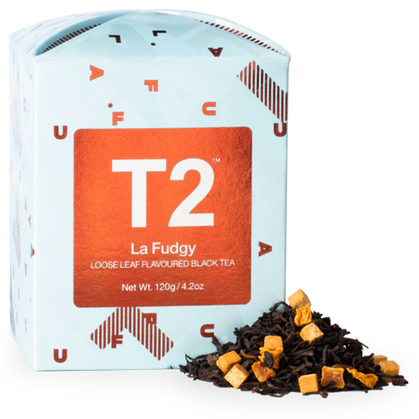 T2 La Fudgy Leaf Tea 120g