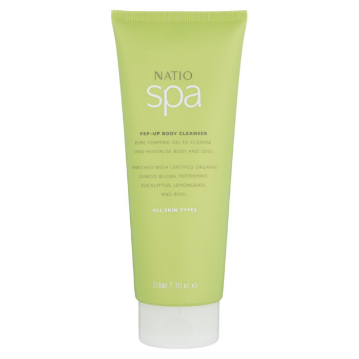 Natio Spa Pep-Up Body Cleanser 210ml