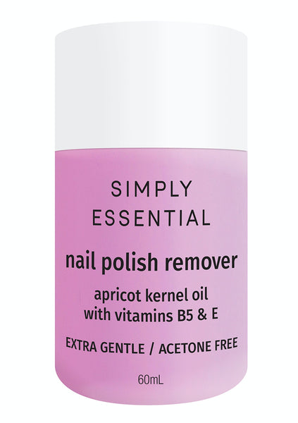 SIMPLY ESSENTIAL Nail Polish Remover 60ml