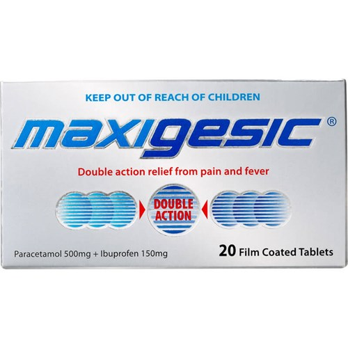 MAXIGESIC Pain Relief 20s