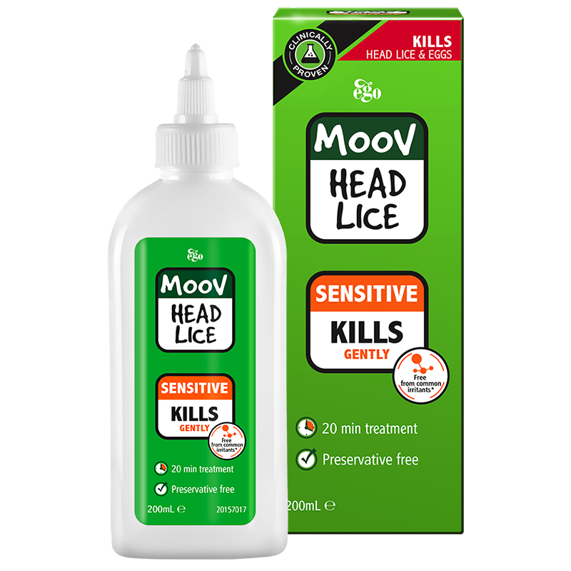 MOOV Head Lice Sensitive 200ml