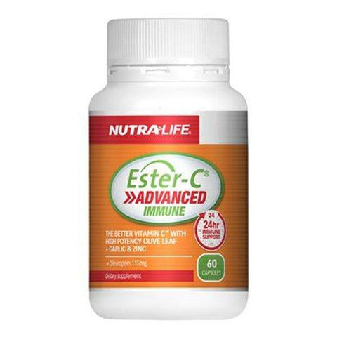 NUTRALIFE Ester-C Advanced Immune 30caps