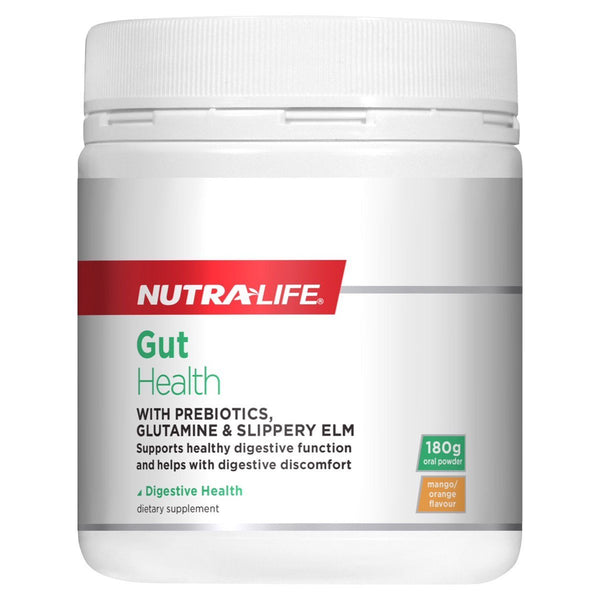NUTRALIFE Gut Health with Preboitics 180g
