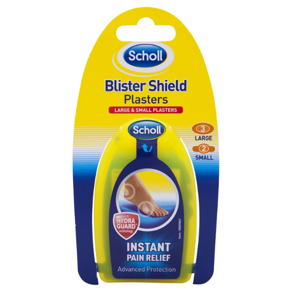 SCHOLL Blister Shield Plasters 5 large & small