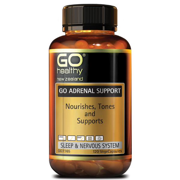 GO HEALTHY Adrenal Support 120vcaps