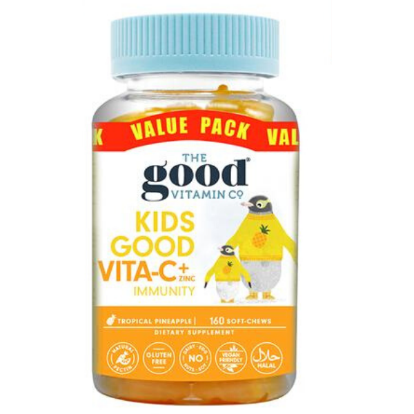 GOOD VITAMINS Kids Good Vita-C +Zinc 90softchews