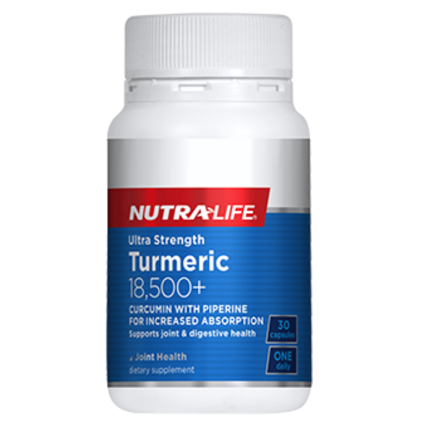 NUTRALIFE Ultra Strength Turmeric 18500mg 30caps