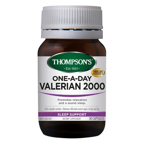 THOMPSON One-A-Day Valerian 2000 30caps