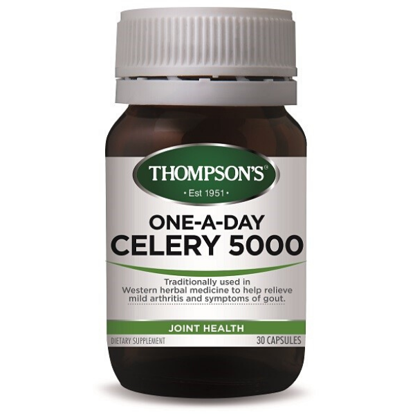 THOMPSONS One-A-Day Celery 5000mg 30caps