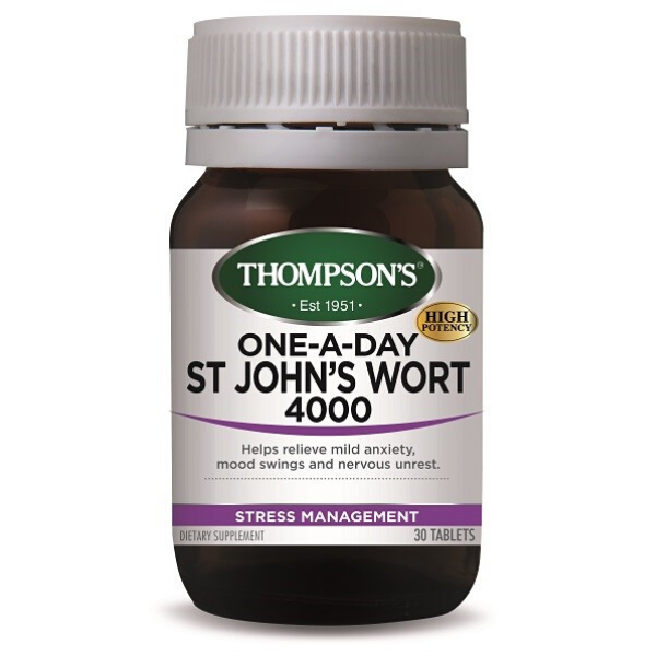 THOMPSONS One-A-Day St John's Wort 4000 30tabs