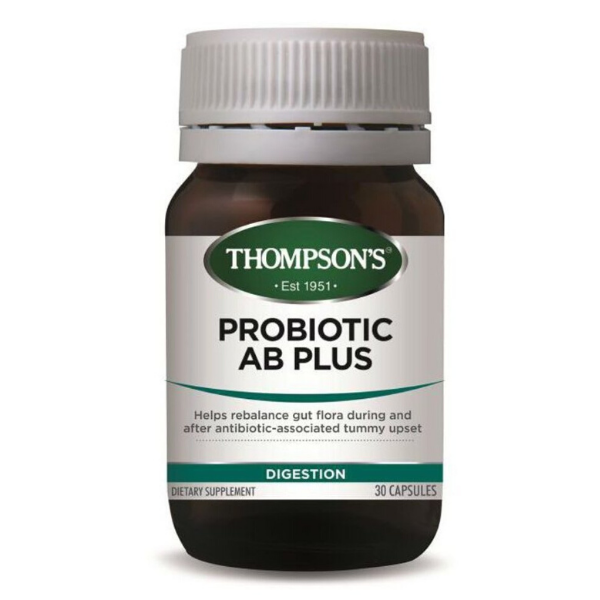 THOMPSONS Probiotic AB Plus 30Caps