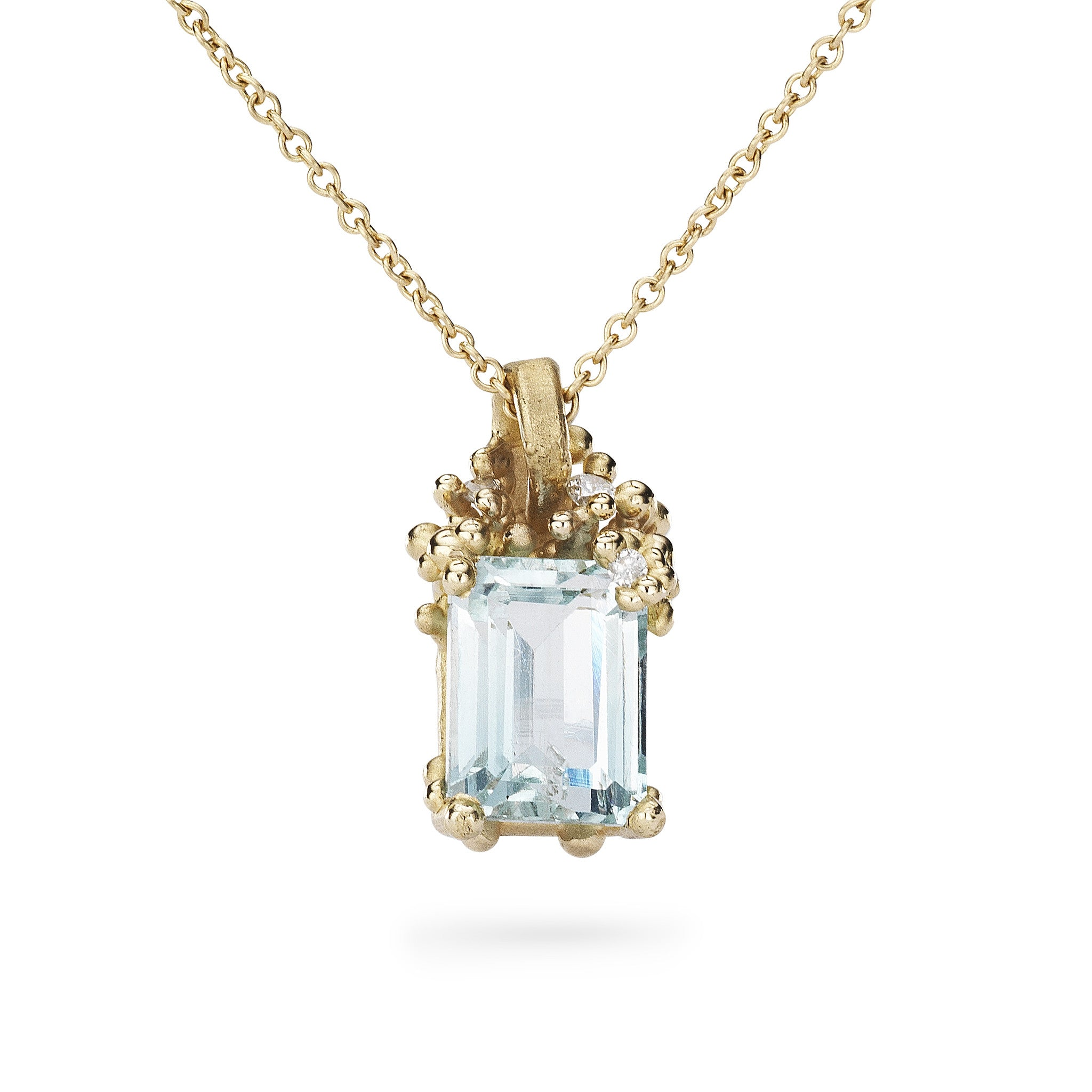 aquamarine in with silver gold ct and diamonds jewelry sterling teardrop pendant