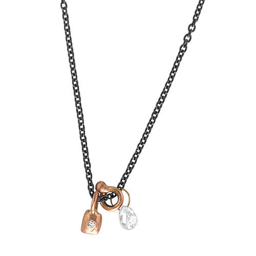 diamond pendant pendants necklace contemporary pink linneys necklaces collections jewellery