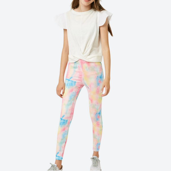 Girls Tie-Dye Leggings