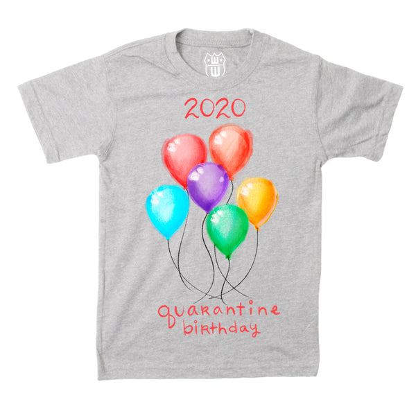 Kids Shirt -Birthday- 2020 Quarantine