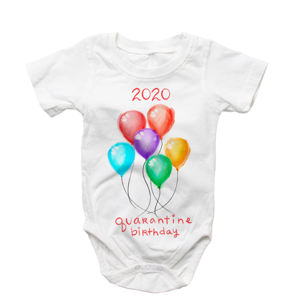 Birthday -2020 Quarantine Onsie