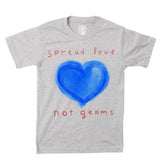 Kids Shirt-Spread Love Not Germs- 2020 Quarantine