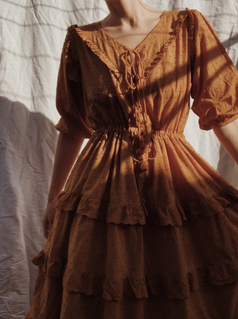 LITTÉRAIRE COPPER DRESS
