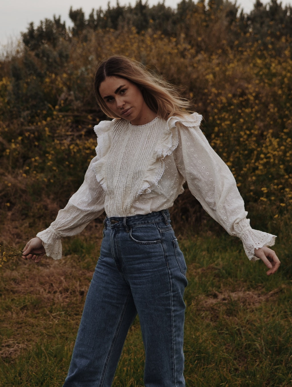 POTAGER BLOUSE IVORY