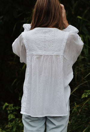 MABEL BLOUSE WHITE