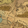 Pilgrims Progress Map – Valley of the Shadow of Death