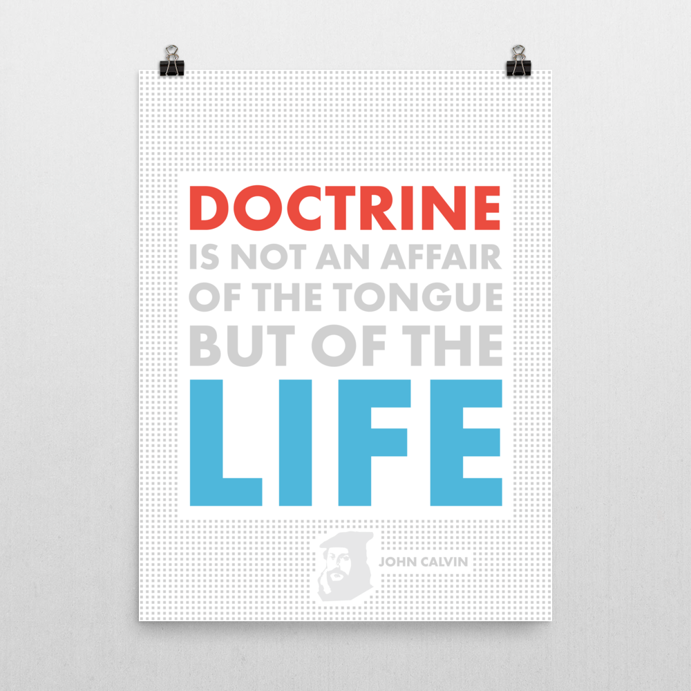 Doctrine Quote, John Calvin