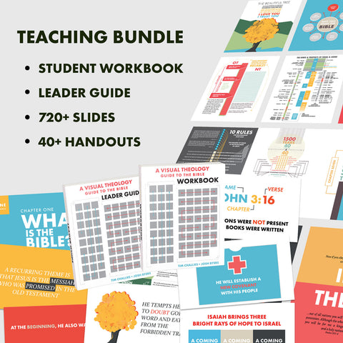 A Visual Theology Guide to the Bible Teaching Bundle