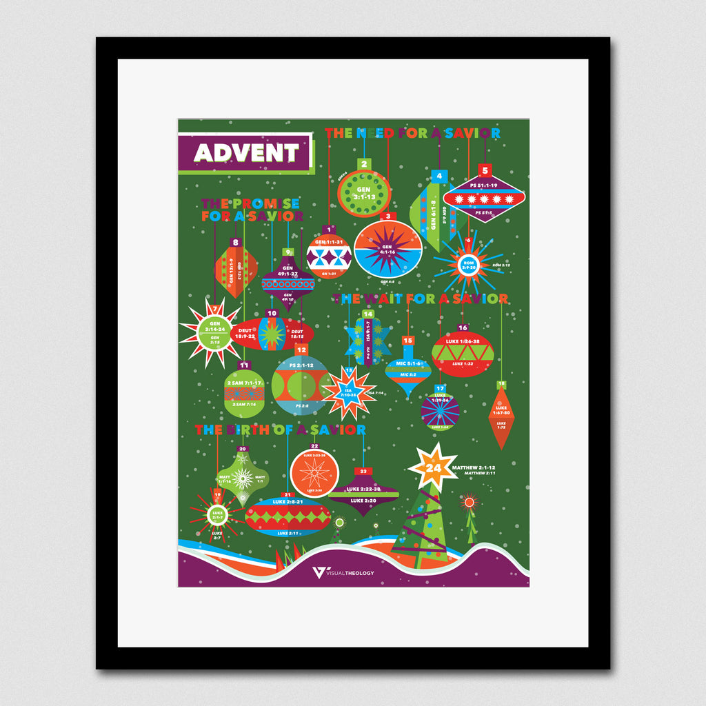 Advent Reading & Coloring Calendar